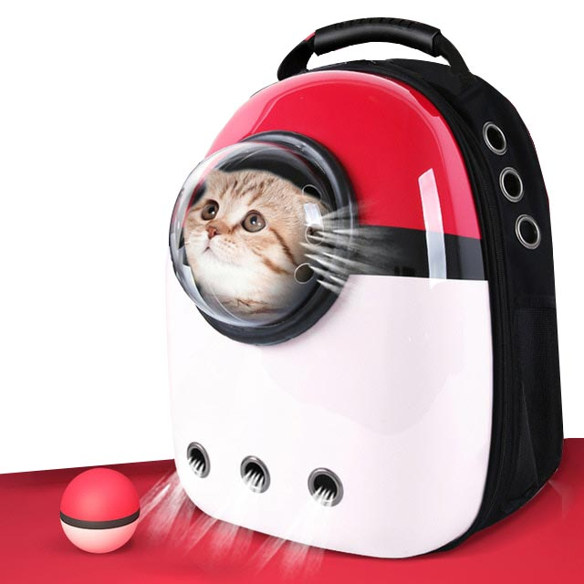 The Capsule - Astronaut Cat Backpack The Capsule - Astronaut Cat Backpack Cat Carriers Pet Friend Store The Purr House- The Purr House