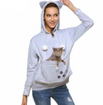 Kangaroo Hoodie - The Best Pet Holder | Cuddle Pocket Kangaroo Hoodie - The Best Pet Holder | Cuddle Pocket Hoodie The Purr House The Purr House- The Purr House