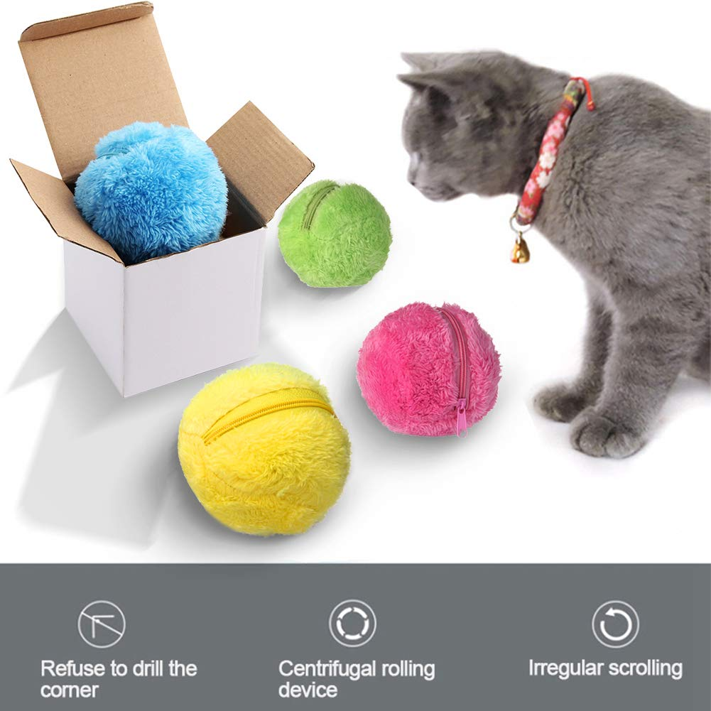 RoboMop - Electric Toy Mop Ball for Cats RoboMop - Electric Toy Mop Ball for Cats Cat Toys eLife Co.,Ltd The Purr House- The Purr House