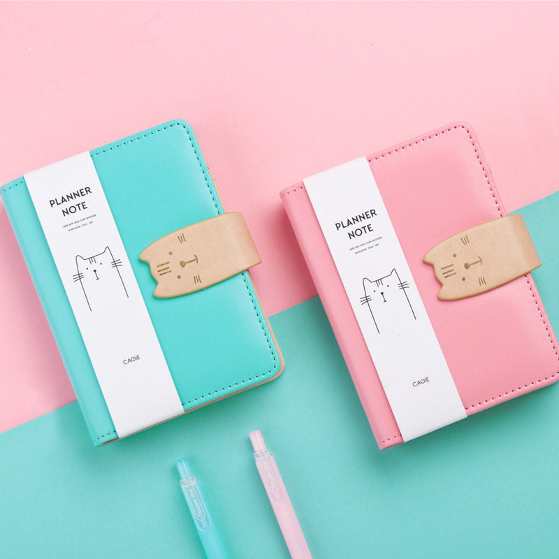 Planner Notebook - Let The Cat Help You Get Organized Planner Notebook - Let The Cat Help You Get Organized Notebook The Purr House The Purr House- The Purr House