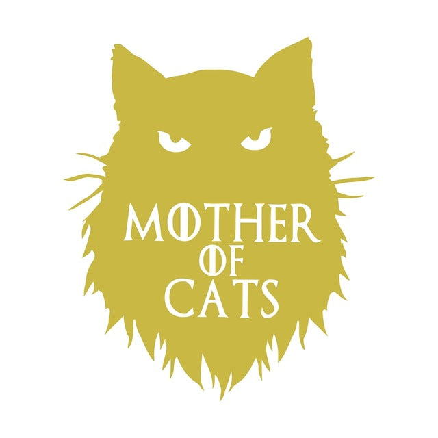 Mother of Cats Wall Sticker Mother of Cats Wall Sticker Wall Sticker iCar decoration The Purr House- The Purr House