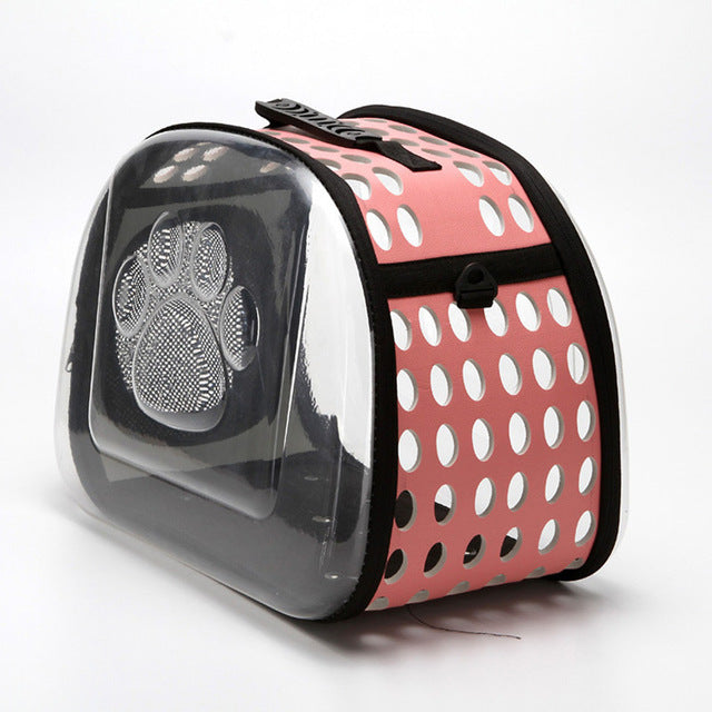 Classy Transparent Cat Travel Bag Classy Transparent Cat Travel Bag Cat Carriers Petminru Pets World Store The Purr House- The Purr House