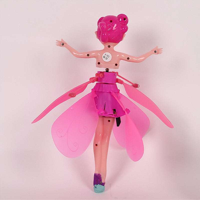 Fun Flying Fairy Dolls Click And Catch