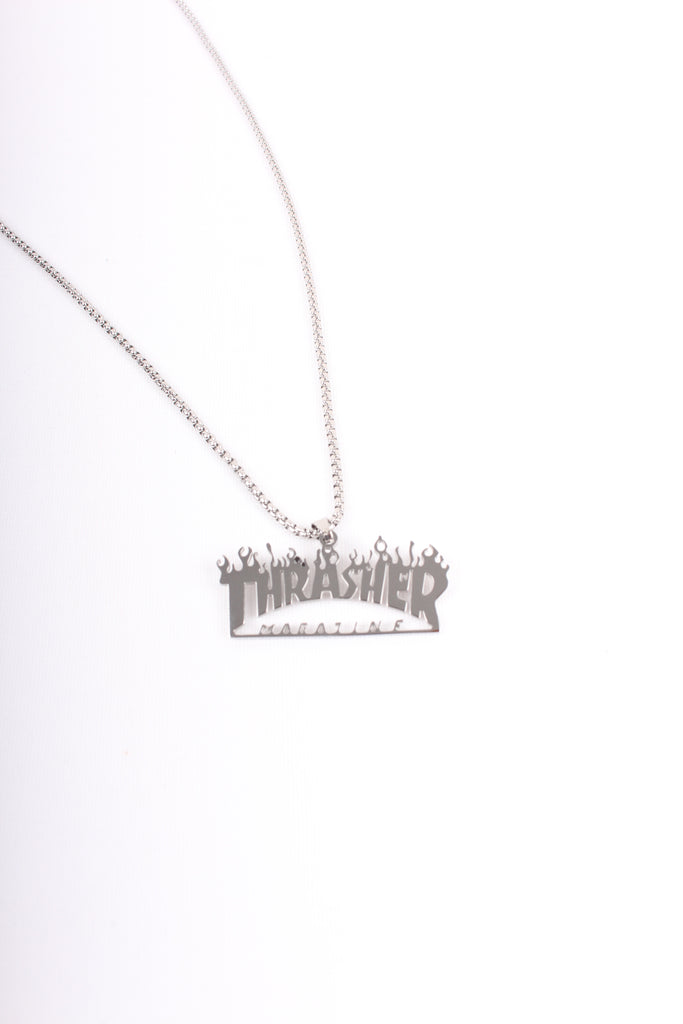 Thrasher Necklace Silver - Payday Vintage
