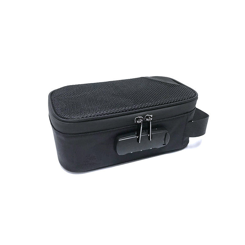 Carbon Lined - Smell Proof - Lockable - Small Lunchbox Sized