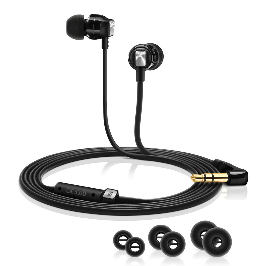 CX 3 Black In-Ear Earphone