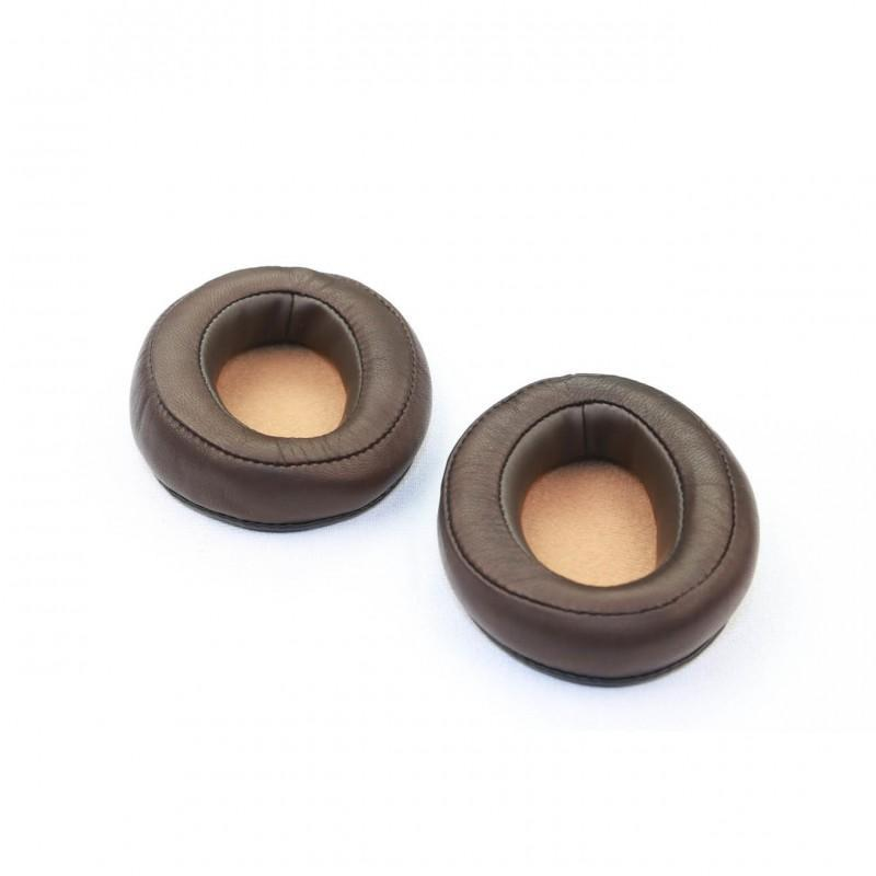 Ear pads (1 pair), Brown/Light-Brown