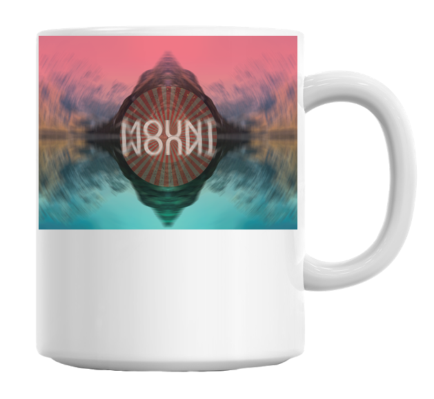 Mountain Mirror Landscape Mug