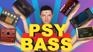 Psy Trance Bass Sound Design by Dropgun Samples