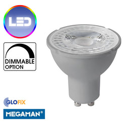 Megaman 4.5W LED Dimmable GU10 Spot In 2800K And 4000K