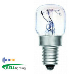 BELL Lighting 15W or 25W Oven Bulb 300 degree (Small Edison Screw Cap) - Glo Fix