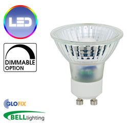 BELL Lighting 6W Pro LED Halo Classic GU10 CRI95 Dimmable - 36°, 2700K and 4000K - Glo Fix