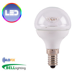 BELL Lighting 4W LED Round Opal 250 Lumens (Small Edison Screw) - Glo Fix