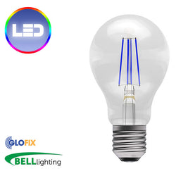 BELL Lighting LED Coloured Filament GLS (Edison Screw) - Glo Fix