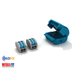Wiska Shellbox Mini Junction Box 1 x MJB 2 and 2 x SBOX 2 - Glo Fix