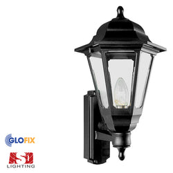 ASD Lighting Full Coach Lanterns, available in black or white - Garden Lights