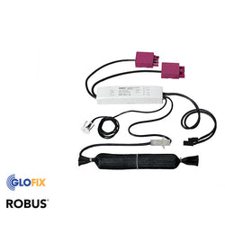 Robus 3 Hour Emergency Pack For Use With 600x600 Panels And Eternity Downlights, c/w Swift Connector - Glo Fix