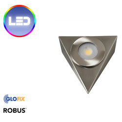 Robus Royal 2.5W IP20 Brushed Chrome | LED Cabinet Lights
