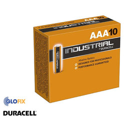 Batteries - Duracell Industrial AAA Alkaline Batteries (10 Pack)