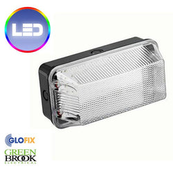 LED 6W IP65 Polycarbonate Bulkhead