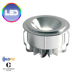 LED Cabinet Lighting - Collingwood 1W LED LYTE Flush Mounted Mini Downlight