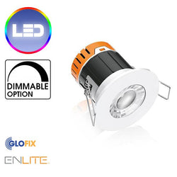 Bathroom Spotlight - Enlite EN-DE5 LED 4.5W Ceiling Downlight 390 Lumens Suitable For Bathroom