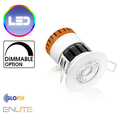 Bathroom Downlight - Enlite EN-DE8 Ceiling Downlight 640 Lumens Suitable For Bathroom