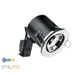 Bathroom Spotlight - Enlite EN-FD103 Bathroom GU10 Downlight IP65