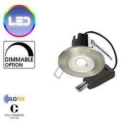 Downlights - Collingwood DLT388 H2 Lite T 4.4W LED Ceiling Downlight 440 - 460 Lumens Suitable For Bathroom