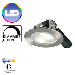 Downlights - Collingwood H5 1000 Asymmetric 16W Low Glare LED Downlight