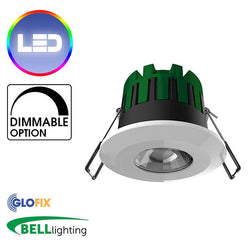 Downlights - NEW BELL Lighting 10550 Firestay Smart Dimmable Connect Downlight With Tunable Colour Temperature