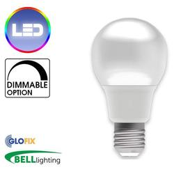 BELL Lighting 9W LED Dimmable GLS Opal 810 Lumens (Edison Screw Cap) Replaces 60W