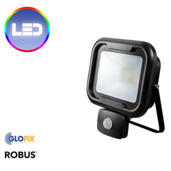 Floodlights - Robus Remy IP65 LED Floodlight (10W To 50W And Movement Sensor Options)