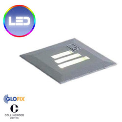 Garden Ground Lights - Collingwood GL022 1W LED 30 Degree Slotted Square IP68 Rated Ground Light