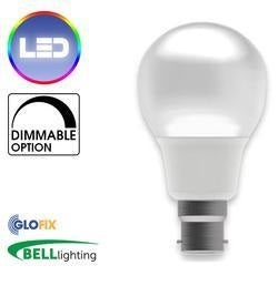 BELL Lighting 18W LED GLS Pearl 1600 Lumens (Edison Screw Cap) Replaces 100W