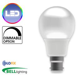 BELL Lighting 7W LED Dimmable Candle Opal 500 Lumens (Edison Screw Cap) Replaces 40W