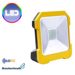 Site Lights - Brackenheath LED 110v Portable Task Light