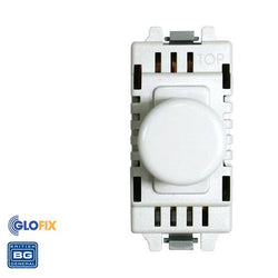 BG Nexus Grid Dimmer In White Plastic