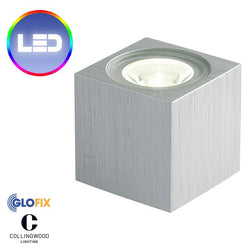 Garden Lighting - Collingwood MC010 1W LED IP65 Mini Cube Wall Light