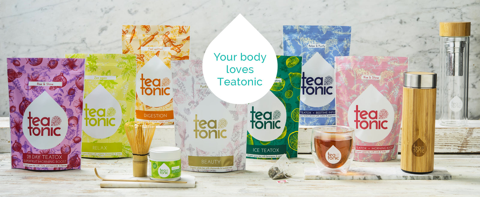 Teatonic - Teatox - Weight loss - Detox tea range