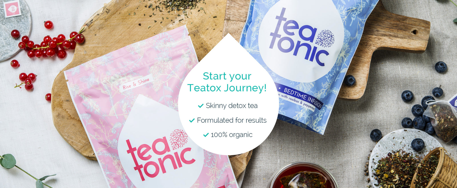 Teatonic Skinny Teatox programme - Weight loss - Detox tea