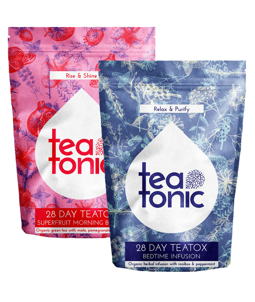 Teatonic - 28 DAY Superfruit Teatox - Skinny Detox Tea Cure