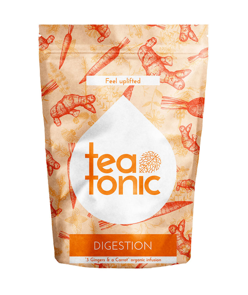 Teatonic - Digestion - 3 Gingers & a Carrot infusion