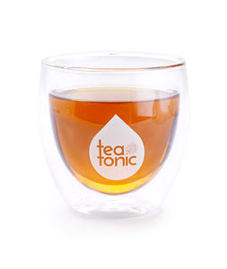 Teatonic - Double-Wall Glass Tea Mug Full