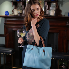 Roma bag in light blue image