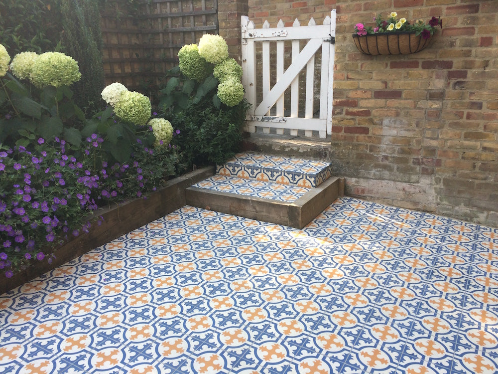 Encaustic Tiles for Gardens