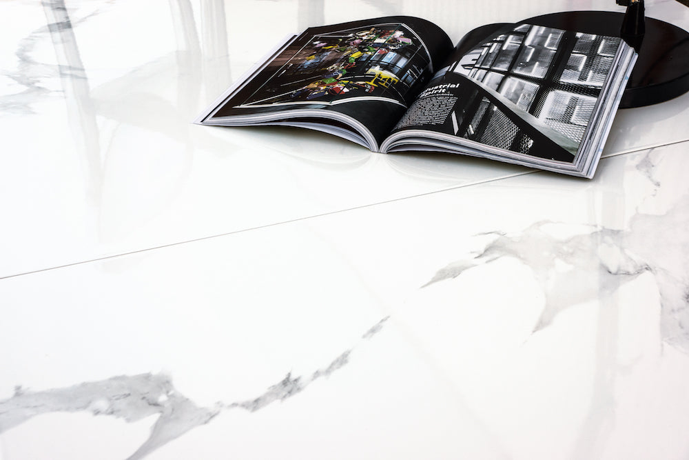 Marble-look: White Marble