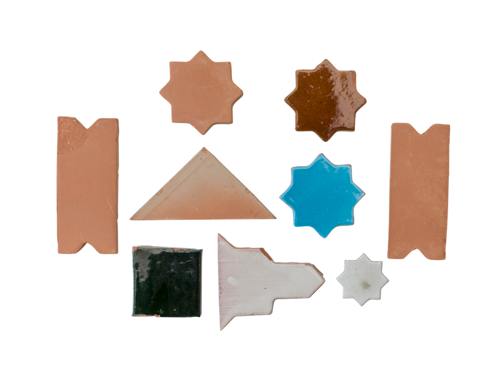 Terracotta: Hand-glazed Tiles & Insets