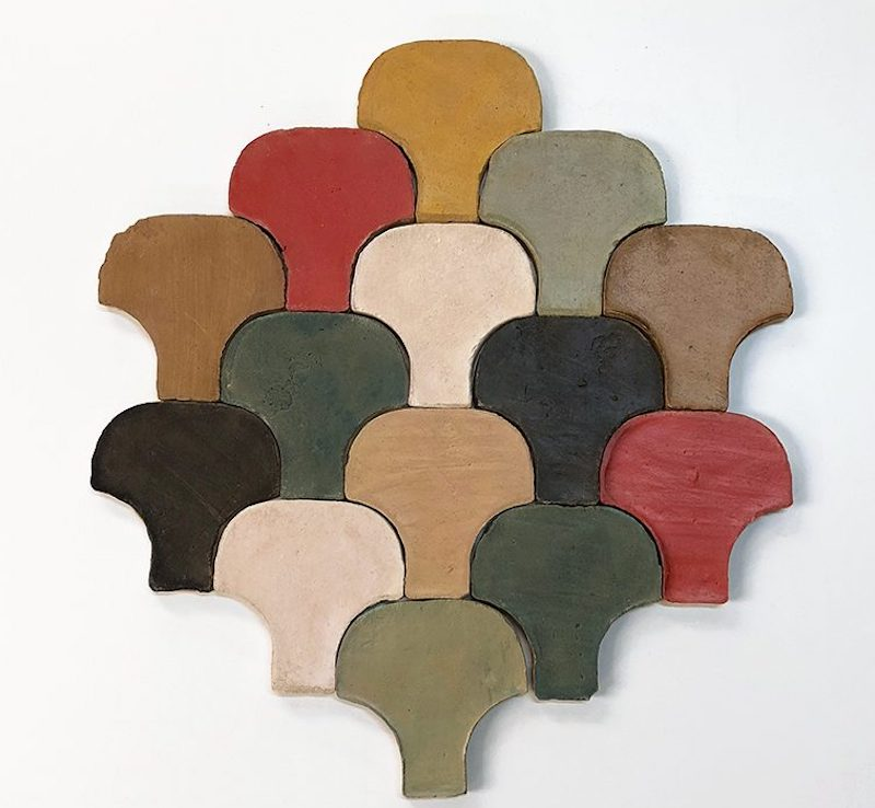 New In: Coloured Clay - Shell
