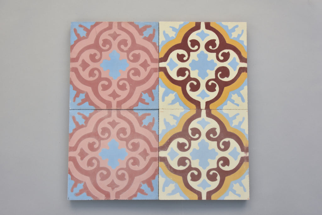 Encaustic Tiles: T04